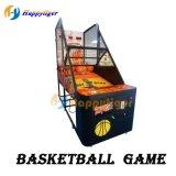 호화스러운 동전에 의하여 운영하는 농구 경기 기계 아케이드 오락 기계
