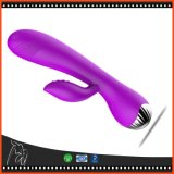 Os vibradores de venda quentes do brinquedo do sexo para o sexo adulto dos produtos da alta qualidade das mulheres brincam a vibração do G-Ponto do silicone