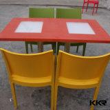 Shenzhen Kkr 4 de Eettafel en de Stoelen van het Restaurant van de Persoon