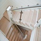 Конструкция Railing нутряного балкона стеклянная/стеклянных балюстрады для внешнего Decking