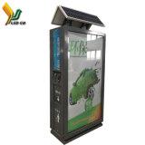P5 Módulo de LED do monitor de vídeo de Poupança de Energia Solar caixote de lixo