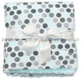 Gedrucktes Micromink und PV-Vlies-Baby-Zudecken