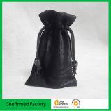 Custom богатого бархата подарочный пакет упаковки электронных чехол со шнурком