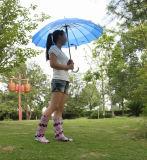 Carregador de chuva transparente impermeável, carregadores transparentes da mulher
