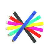 Soem-Belüftung-Förderung-Geschenk-Armband USB-Blitz-Laufwerk mit kundenspezifischem Firmenzeichen