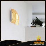 Indicatore luminoso di legno della parete di buona qualità della stanza di ospite dell'hotel (MB8157)