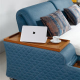 Самомоднейшая кровать кожи типа для мебели Fb8047b гостиной