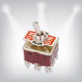 Interruptor eléctrico encendido-apagado de Spst (1021)