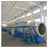 Maquinaria térmica plástica da tubulação da extrusão do HDPE