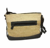 Madame Leisure Shoulder Handbag Bag de beauté de pp Woven/PU