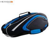 La ligne chariot de club folâtre le sac fait sur commande bon marché de tennis de palette de raquette d'Uinque
