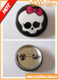 Печать Cute картонной упаковке логотип Тин логотип кнопки, кнопки значок (YB-BB-01)