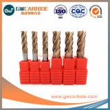 6X50 HRC55-68 4 miolo moinhos de ponta de carboneto de tela plana
