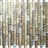 Mattonelle di mosaici di vetro di disegno popolare caldo di vendita per la decorazione della casa dell'hotel