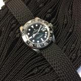 Cinturino di vigilanza Braided di Perlon di modo di alta qualità con il formato differente
