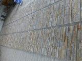 Tegels van het Grootboek van de Steen van de lei/van de Steen van de Stapel van het Gezicht Wall/Cladding van het Vernisje de Buiten Gespleten