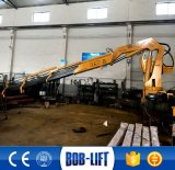 トラックのための中国油圧アーム重量物運搬クレーン