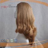 La mejor peluca judía brasileña del pelo humano (PPG-l-0217)