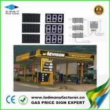segno di fissazione dei prezzi del gas di 8inch LED di CREE bianco LED