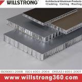 15mm Épaisseur aluminium Panneau alvéolé pour mur extérieur