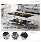 Tabella di tè domestica moderna del caffè di vetro Tempered della mobilia Yf-T17075