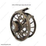 Personalizar el servicio del molinete Venta caliente máquina CNC cortar el árbol de gran trucha de agua dulce Fly Reel 02A-CNC-IV-Ne