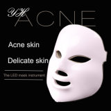 Non-Invasiva e indolor máscara facial de LED de 7 cores
