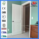 Sólido blanco HDF puerta de madera de madera interior