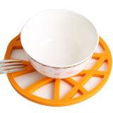 Silicone colorido Placemat/silicone Non-Slip Placemat/esteira Food-Grade do silicone/almofada isolada calor