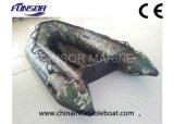 折る床(Mシリーズ2.0m-6.0m)が付いている膨脹可能なボートを採取するFunsorのセリウムの承認