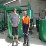 폐기물 모터 오일 여과 시스템