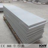 La pierre acrylique blanche en gros de Kkr couvre la surface solide