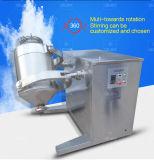 3 mezcladoras uniformadas movimiento dimensional/mezclador
