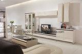 디자인 거실 Furntiure 새로운 높은 광택 MDF 유리제 커피용 탁자 (CJ-147A)