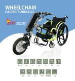Disabled를 위한 정면 Drive Wheelchair Attachable Electric Handcycle