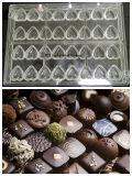 Molde de Chocolate transparente com material de qualidade alimentar do PC