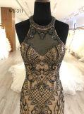 高品質の女性のための重い玉が付くイブニング・ドレス
