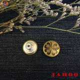 Het hete Verkopende Denim van het Metaal knoopt de Nieuwe Schroef Jean Button van de Manier dicht