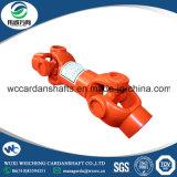 Di dispositivo di accoppiamento universale dell'asta cilindrica di cardano di SWC per il macchinario