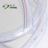 Non - toxique du fil en acier en PVC flexible en spirale