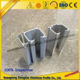 Extrued perfila o alumínio para o trilho do alumínio do trilho do Wardrobe