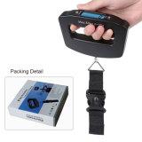 휴대용 여행 전자 디지털 Foldable 수화물 가늠자