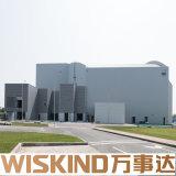 China fabrizierte niedrige Kosten-industrielle Metallspeicher-Halle-Entwürfe vor