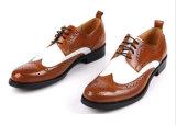 イギリス様式牛革形式的な履物モデルオックスフォードは人に蹄鉄を打つ