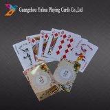 Marque de nouvelles cartes à jouer de cartes en plastique de la publicité