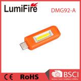 Indicatore luminoso ricaricabile luminoso della torcia di Keychain della torcia elettrica del USB LED