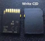 주문 까만 색깔 백색 탭 자물쇠 SD 카드 Cid 변경 32GB 64GB 256GB