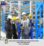 Placa de gipsita do material de construção que dá forma à maquinaria