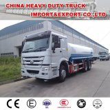 販売のためのHOWO 6X4 20m3水タンク車のスプレーのトラック