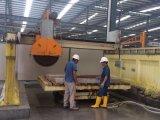 Auto Marmeren Bidge zag Machine van de Verwerking van de Steen van het Graniet van de Laser de Scherpe